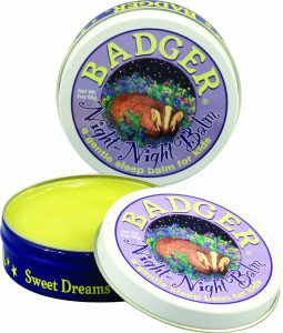 Badger Night Night Balm #NationalSleepAwarenessWeek #madeinUSA via USALoveList.com