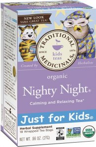 Traditional Medicinals Night Night Tea #NationalSleepAwarenessWeek via USALoveList.com