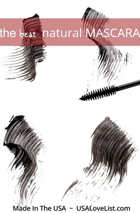 Our favorite natural mascara, #madeinUSA + tips on how to apply mascara. NO FLAKES!