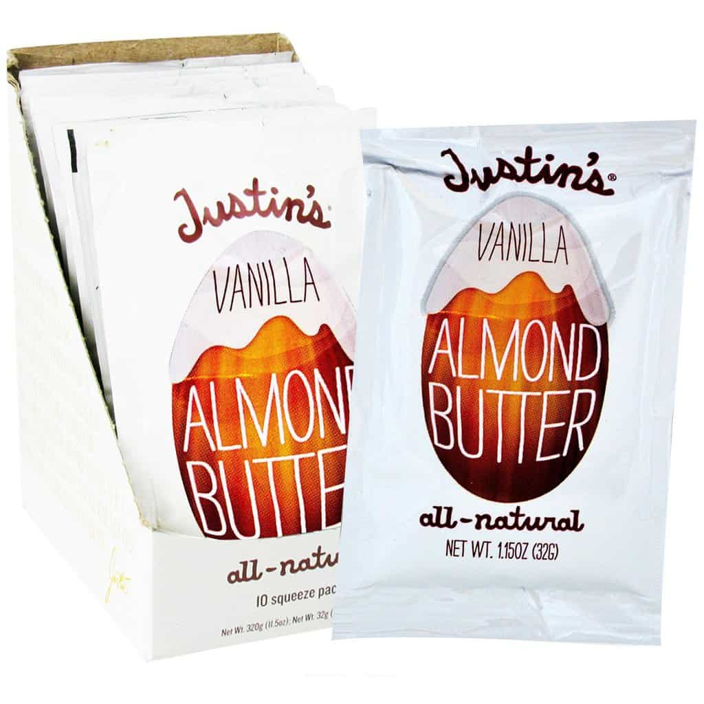 American Made Camping and Backpacking Essentials, Justins Vanilla Almond Butter via USALoveList.com