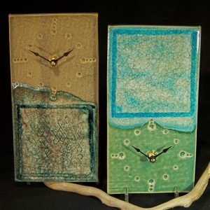 American Made Clocks Made From Recycled Materials from the local Pacific Northwest