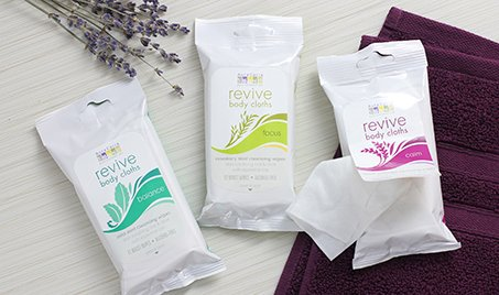 Aura Cacia Revive Body Clothes with Essential Oils via USALoveList.com