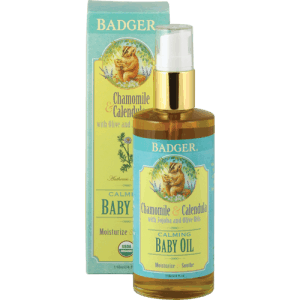 Badger Balm Baby Bath Products Made in USA without petroleum byproducts, Available at Whole Foods | #thinkdirty #getclean #AmericanMade via USALoveList.com.