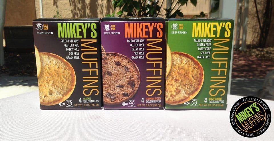 Mikeys Muffins |Made in USA |Gluten Free, Paleo, Non GMO