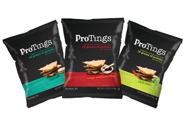 ProTings Protein Low Carb Chips   Gluten free snacks Vegan snacks