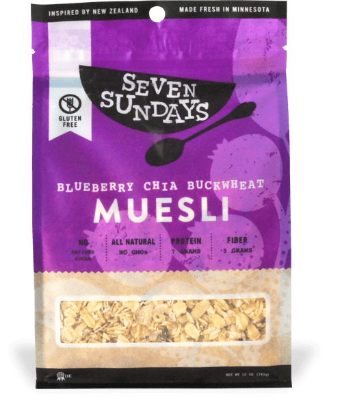 Seven Sundays Muesli | Made in Minnesota | Gluten Free