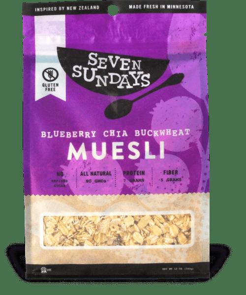 Seven Sundays Muesli   Made in Minnesota   Gluten Free