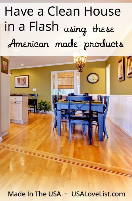 Companies coming! Clean house in a flash with these products! #madeinUSA