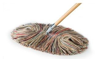 Slack Dust Mop catches dust bunnies in a flash! #madeinUSA