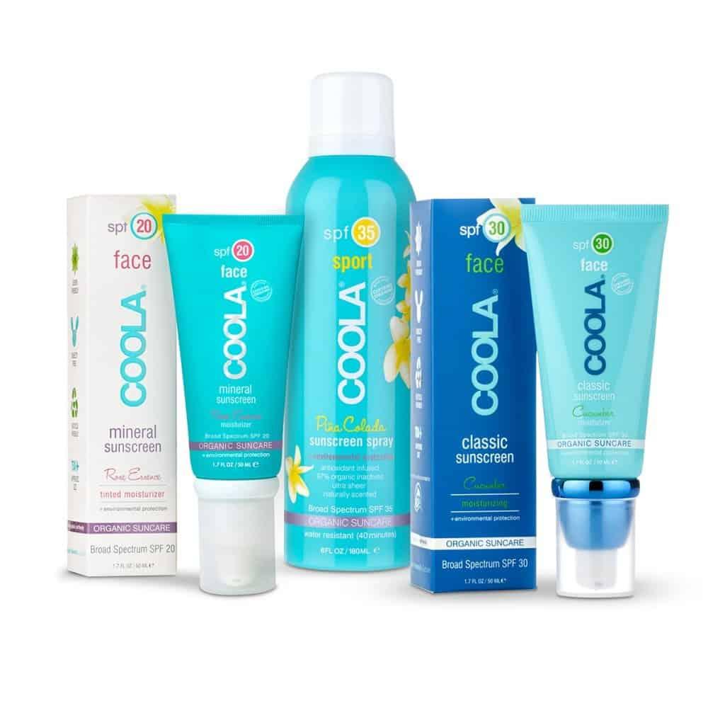 Coola Organic made in USA Sunscreen