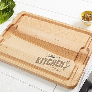 Made in USA personalized cutting board