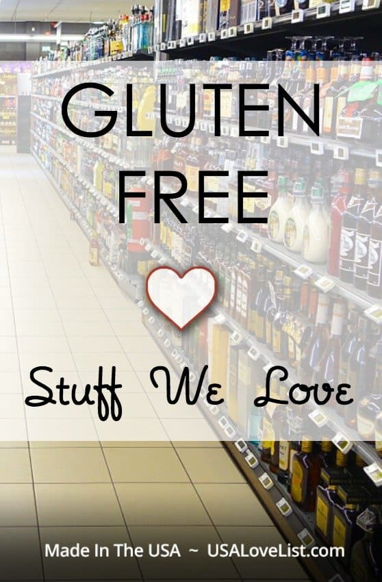 List of Made in USA gluten free goodies via USAlovelist.com