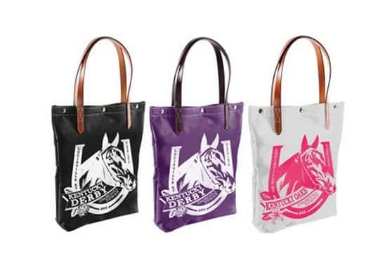 The Official Kentucky Derby Tote by Rebecca Ray Designs