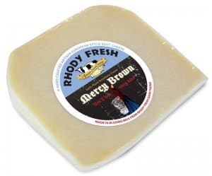 Mercy Brown garlic cheese #vampirebegone #madeinRI #MadeinUSA #GarlicLover
