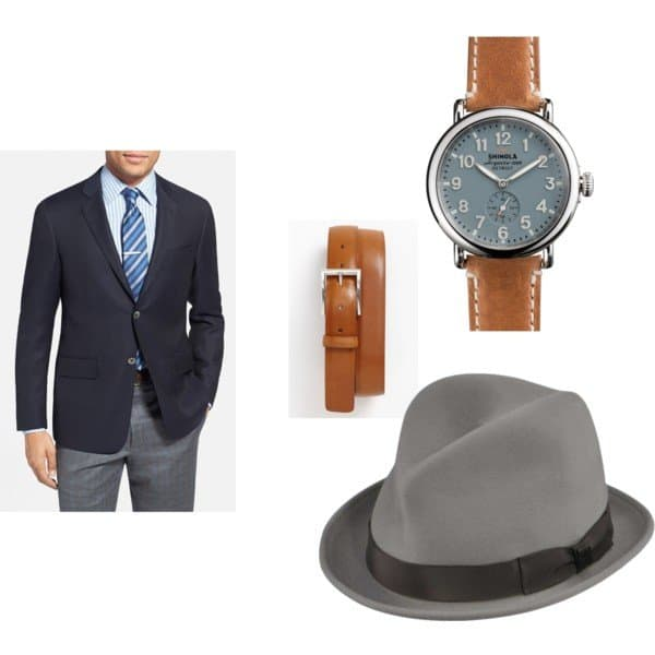 Prosfessional Style - Mens wear details.  15% off code USAlove at hats.com