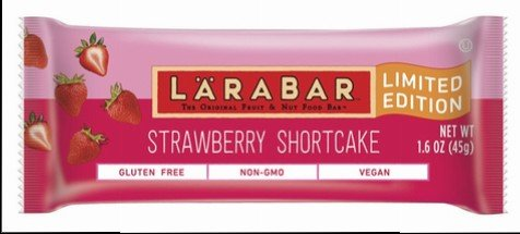 Larabar Limited Edition Strawberry Shortcake   Gluten free, Vegan, Non GMO, Dairy Free + Soy Free