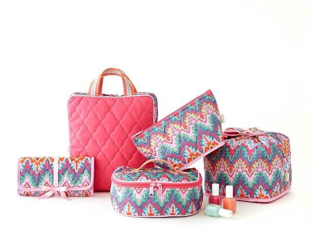 American Made Cinda B Patterned Handbag and Luggage via USALoveList.com