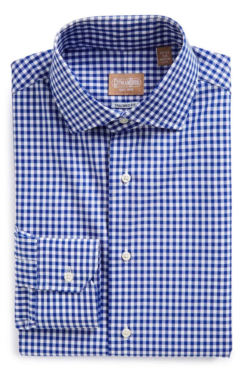 American Made Mens Luxury Gifts - Gitman Dress Shirt