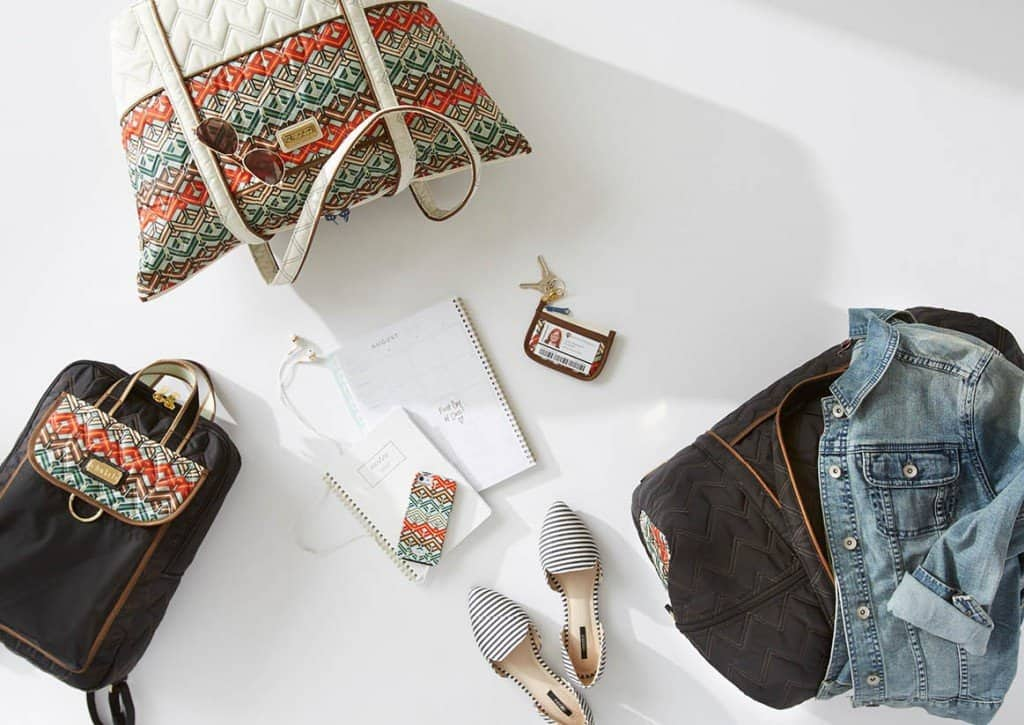 If You Love Vera Bradley, You'll Love Cinda B American Made Handbags, Luggage and Accessories Even More via USALoveList.com