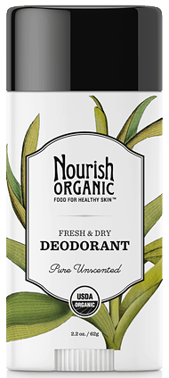 Best Natural Deodorant: Nourish Organic Fresh and Dry Deodorant review #usalovelsited #naturalskincare #madeinUSA