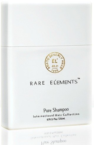 Rare Elements Pure Shampoo Reviewed on USALoveList.com - Made From Non Toxic Ingridients Ranking 0 on EWG - American Made Luxur