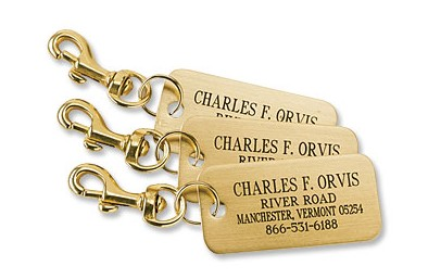 For the man who travels- personalized luggage tags | Father's Day gift idea, graduation gift idea | made in USA