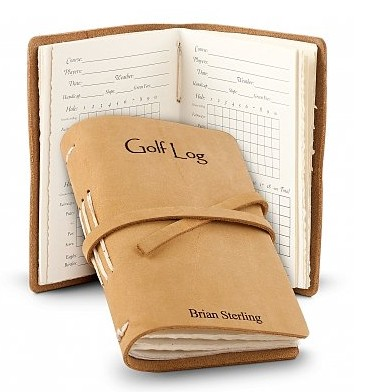 Personalized Golf Log | Great gift for the avid golfer! #madeinUSA