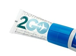 Summer Camp Checklist: Toothpaste 2 Go transfers toothpaste from a regular size tube, to a travel size one. #madeinUSA