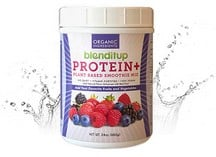 Blenditup Berry Protein+ Smoothie Mix | Organic plant protein, Omega 3, real fruit, chia seeds