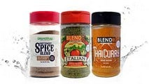 Blenditup Spices: Southwestern, Italian, Thai Curry | Non GMO, Kosher, All Natural