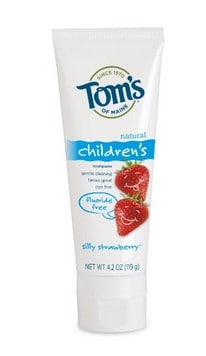 Natural Toothpaste Top Picks | Tom's of Maine Children's Toothpaste #usalovelisted
