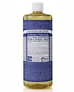 Dr. Bronner's Castile Liquid Soap | Made in USA from hemp oil