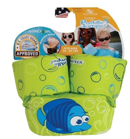 American made Puddle Jumper by Stearns live vest | Great pool + beach must have for the little ones!