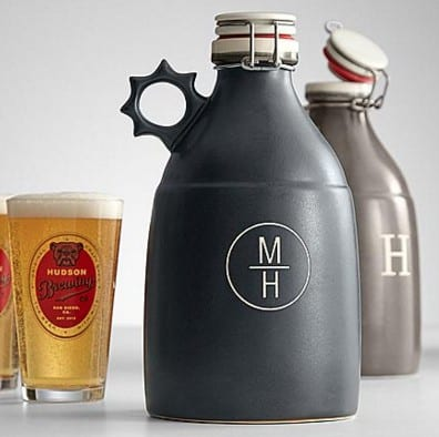 Personalized Portland Growler | Gifts for him | Gifts for local beer drinker |
