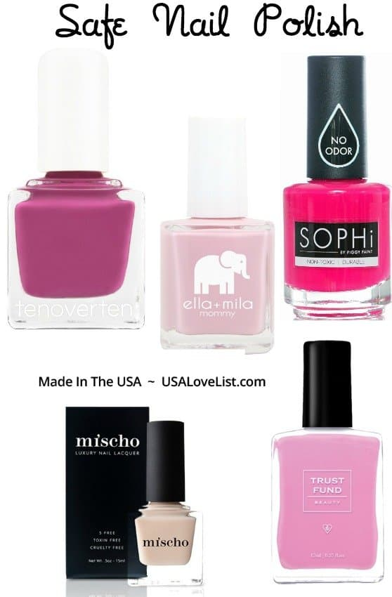 Non toxic nail polish, made in the USA #usalovelisted #nontoxic #nailpolish
