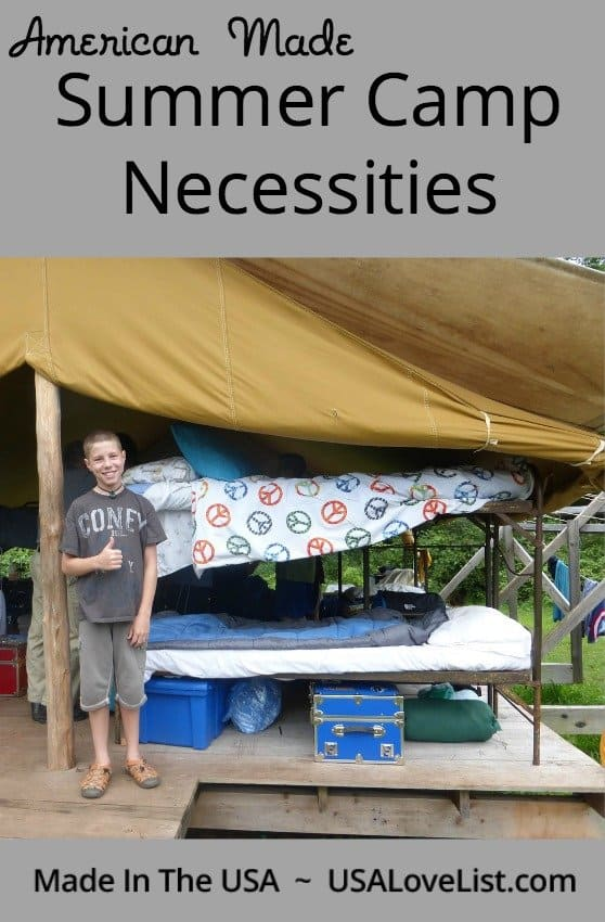 Will your kid survive summer camp without you? Make sure they have these summer camp necessities to help them out.