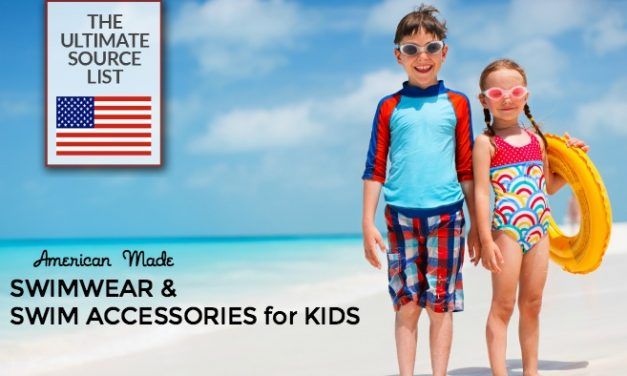 American Made Kids' Swimwear & Swim Accessories for Children of All Ages