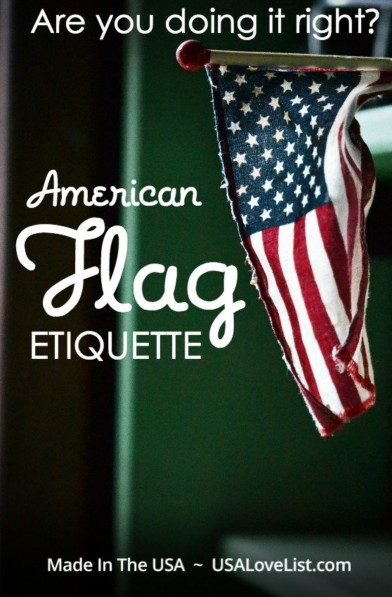 American flag etiquette: Do you know the rules, customs, and etiquette to respectfully display the American flag? Better find out.