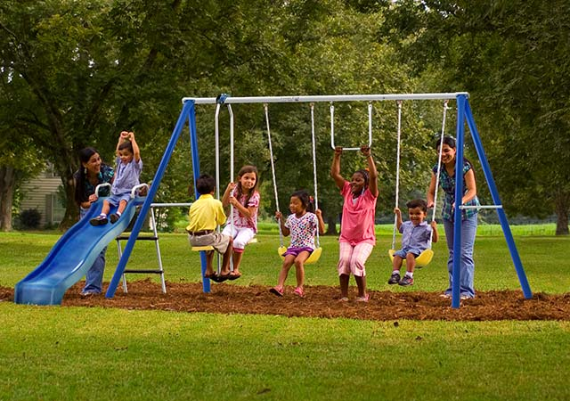 American made outdoor toys and games we love usa love list for T shaped swing set