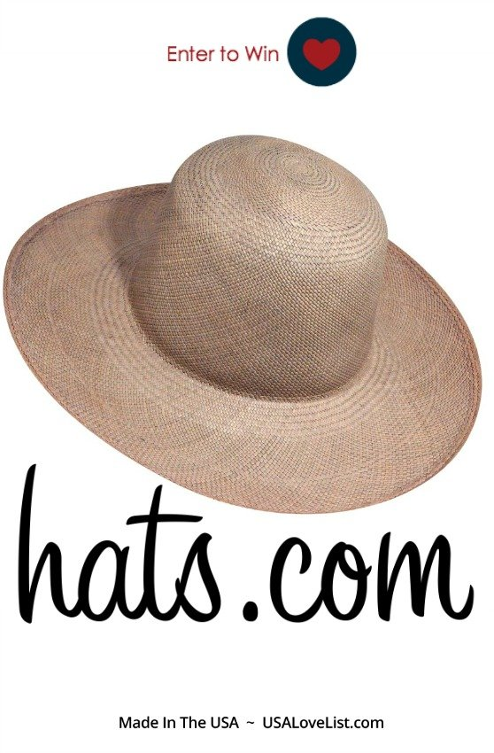 sun hat giveaway | hats.com 15% American Made using coupon code USALove