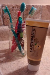 Favorite non mint flavored toothpaste: Earthpaste Lemon Twist| Made with Redmond clay, Fluoride free, Glycerin free,