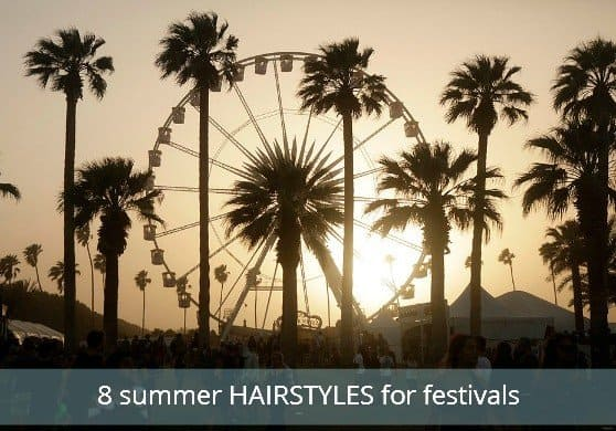 Eight Summe Hairstyles For Festival Goers via USALoveList.com
