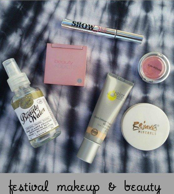 Festival Makeup and Beauty Tips via USALoveList.com