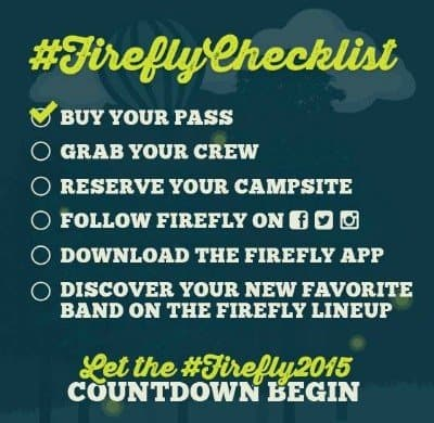 Festival Music Essentials List Including Makeup and Beauty Tips via USALoveList.com