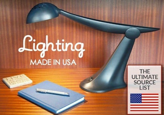 Made in the USA Lighting, the Ultimate source guide for American made lamps, chandeliers, wall sconces, pendant light, and more for indoor + outdoor use