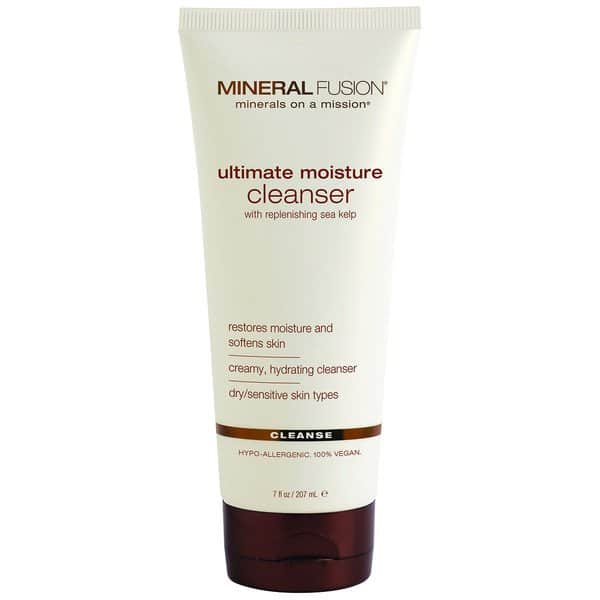 Mineral Fulsion facial cleanser for dry skin | creamy cleanser