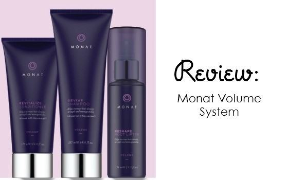 Volume for hair. Monat Volume System review.