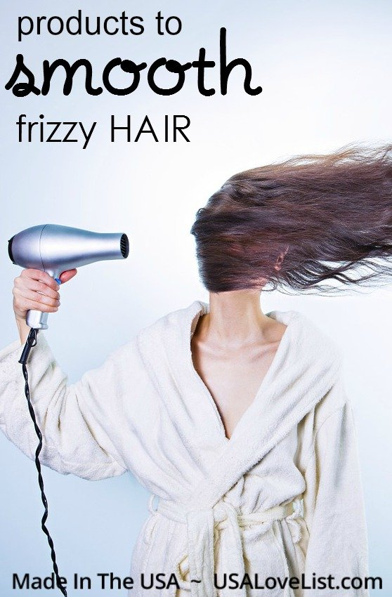 products & tips to smooth frizzy hair