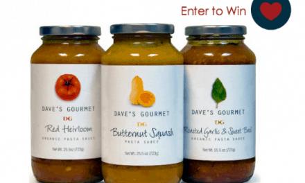 Giveaway: Dave's Gourmet Award Winning Pasta Sauces