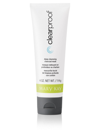 Summer beauty tips with American made products: MK ClearProof Deep Cleansing Charcoal Mask